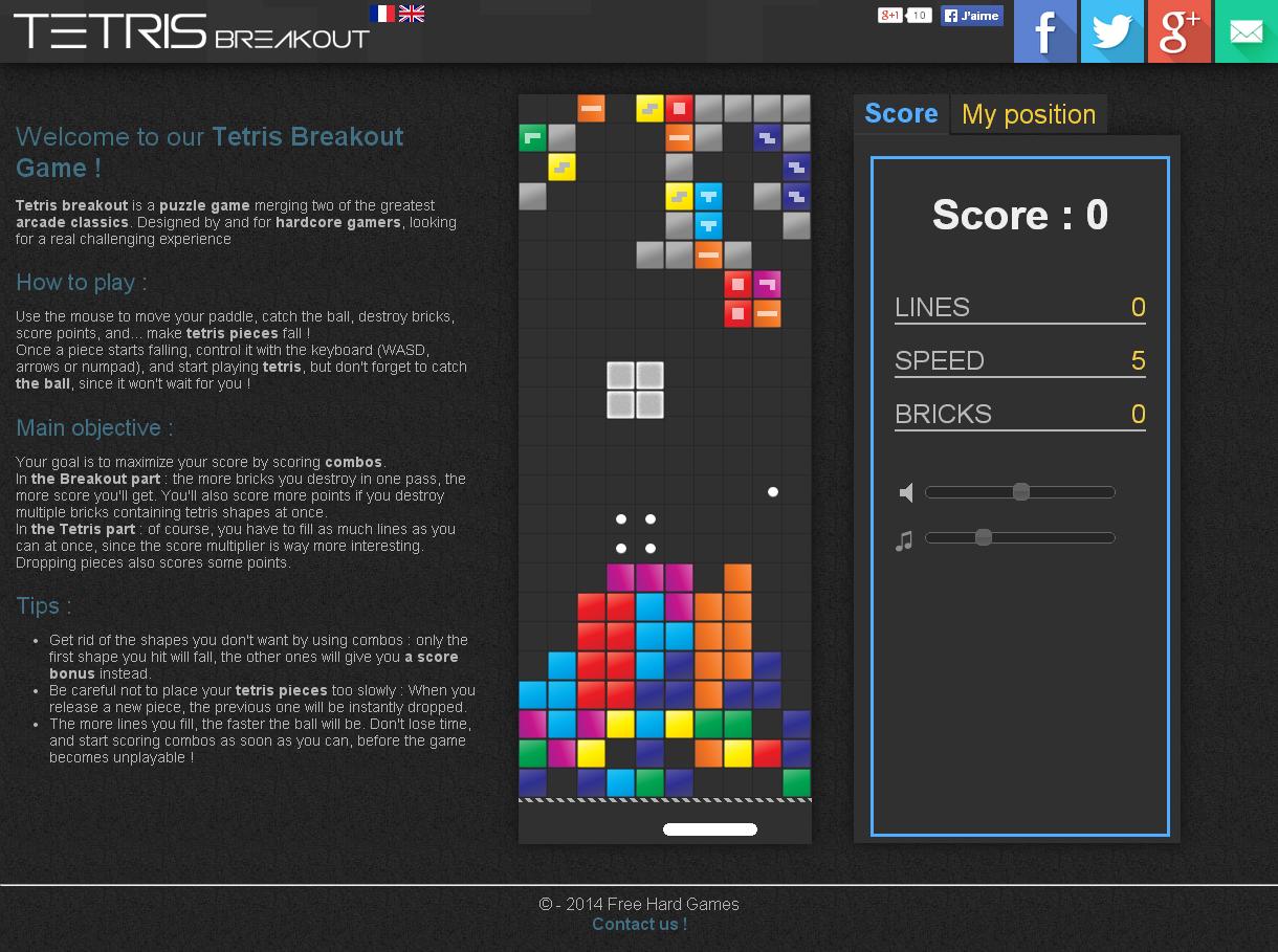 Wanna Explode Some Respawning Blocks Tetris Breakout
